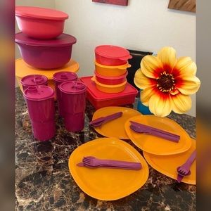 Tupperware al fresco set